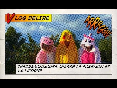 La vidéo dingue: dragon, licorne et Pokémon!