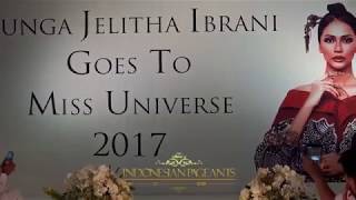 Video Press Conference Bunga Jelitha Ibrani Goes To Miss Universe 2017 MP3, 3GP, MP4, WEBM, AVI, FLV November 2017