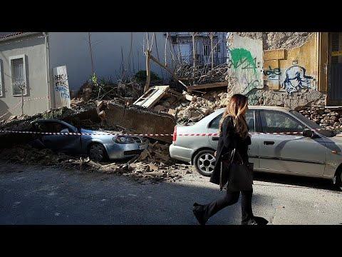 Μεταξουργείο: Κατέρρευσε εγκαταλελειμμένο κτίριο