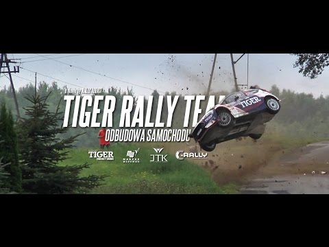 Tiger Rally Team - odbudowa samochodu
