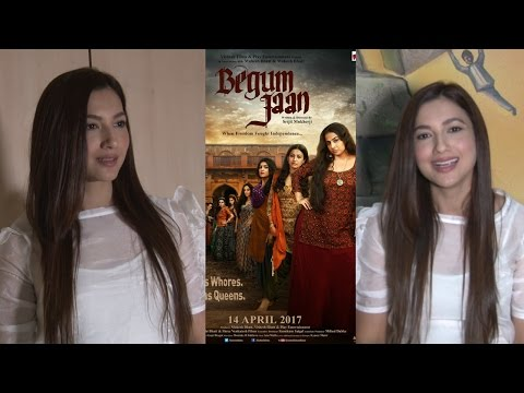 Interview With Gauhar Khan For The Success Of Film Begum Jaan