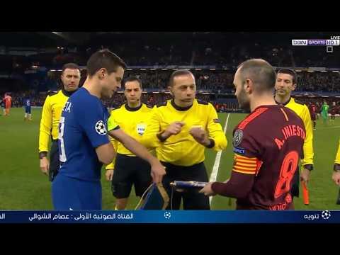 Матч Века! Челси 1-1 Барселона 2018