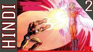 Avengers vs X men | Episode 02 | Marvel Comics in Hindi | BlueIceBear