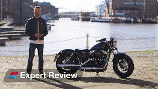 2. 2014 Harley-Davidson 48 [Forty-Eight] bike review