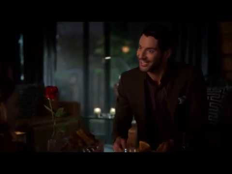 Lucifer 4x02 Lucifer and Chloe's date