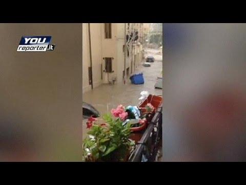 Ιταλία: Καταιγίδες και πλημμύρες