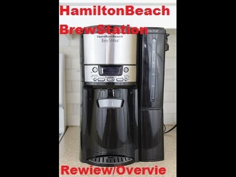Hamilton Beach BrewStation 12-cup Coffee Maker -Peter's Kitchen Corner - review/overview