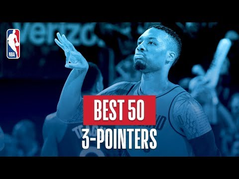 Best 50 Three Pointers: 2018 NBA Season