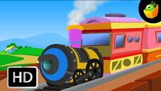 Chikku Rail - Chellame Chellam - Cartoon/Animated Tamil Rhymes For Kids