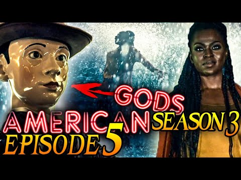 """American Gods Season 3 Episode 5 Breakdown + Easter Eggs Explained! """"Sister Rising"""""""
