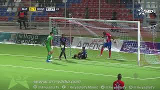 المغرب التطواني 4-1 سريع وادي زم هدف طوني إدجوماريجوي في الدقيقة 90 2.   #كأس_العرش2018_2019|