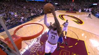 JR Smith Lobs It Up to LeBron James for the Massive Alley-Oop! by NBA