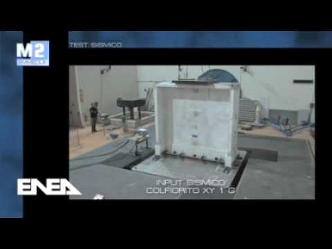 Testy sejsmiczne ENEA na stole wibracyjnym mod C H Emmedue