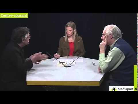 «Contre courant»  Michel Onfray frente a Alain Badiou. (español) (видео)