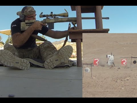 Shooting Crazy Steel 200-1000 Yards - Utah State Sniper Shoot - Alpha Squad