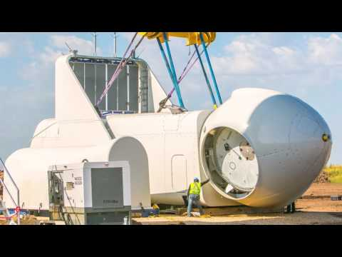 The first installation of Vestas V126 in the U.S. – in under one minute.