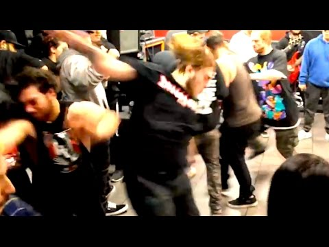 Ozzy Man Narrates Hardcore Dancing