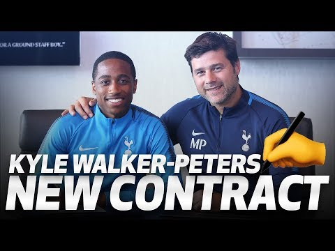 Video: KYLE WALKER-PETERS SIGNS NEW CONTRACT
