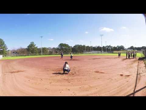 Enterprise Softball Practice