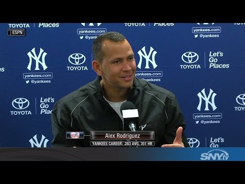 Video: Alex Rodriguez mentors Yankees, says he's definitely retired