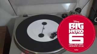 "Video Big Hero 6 - Limited edition 7"" Baymax vinyl of Fall Out Boy's ""Immortals"" MP3, 3GP, MP4, WEBM, AVI, FLV Januari 2018"