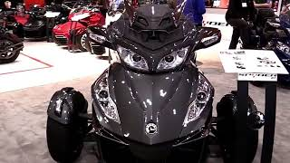 10. 2018 Can Am Spyder RT Limited Complete Accs Series Lookaround Le Moto Around The World