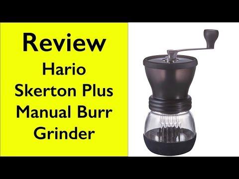 Review Hario Skerton Plus manual burr grinder vs Handground Precision Burr Grinder