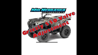 1. Yamaha Grizzly 550 4x4 EPS - Valve Adjustment How To Adjust Valves Clearance Specs