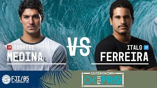 Gabriel Medina faces off against Italo Ferreira in Round Three, Heat 4 at the 2017 Outerknown Fiji Pro. Subscribe to the WSL for...