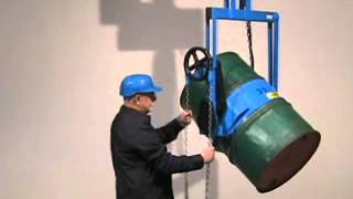 Morse Kontrol-Karriers - Below-Hook Drum Handlers to Lift and Pour a Drum with Your Hoist or Crane