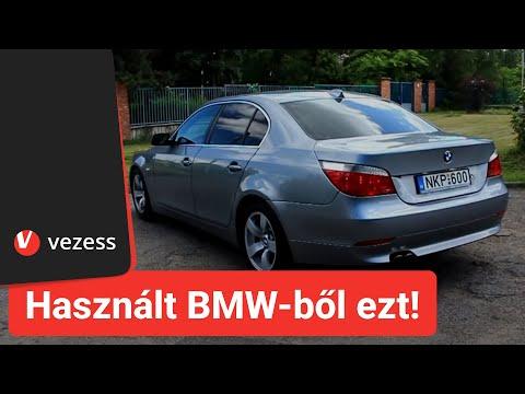 Használt BMW-ből ezt vedd, ha (E60) ötöst akarsz | Vezess TV
