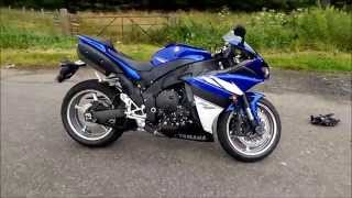 9. 2009 Yamaha YZF-R1 Stock Exhaust Sound (HD) (HQ)