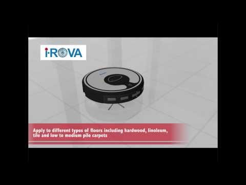 Robot Vacuum Cleaner with Auto Charge XR-510A