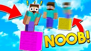 THIS NOOB CHEATED IN MINECRAFT!!