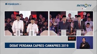 Video Debat Pilpres 2019 Part 3 - Jokowi Jawab Tuduhan Sandi Soal HAM MP3, 3GP, MP4, WEBM, AVI, FLV Januari 2019