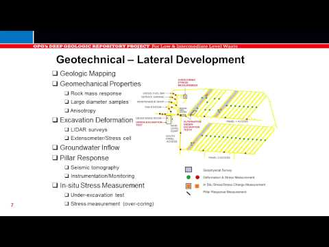 Geoscientific - This video is part of a selection of presentations made at the joint review panel public hearings for the proposed Ontario Power Generation's (OPG) Deep Geol...
