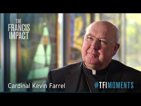 #TFImoments: Cardinal Kevin Farrell on <br>Pope Francis walking the talk