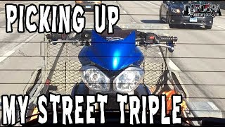 6. Picking Up My Triumph Street Triple