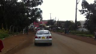Eldoret Kenya  City new picture : Driving in Eldoret, Kenya