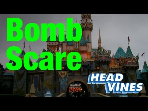 Toontown is evacuated after a dry ice bomb explodes at Disneyland.