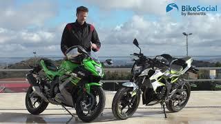 7. Kawasaki Z125 and Ninja 125 (2019) | First Impressions Review