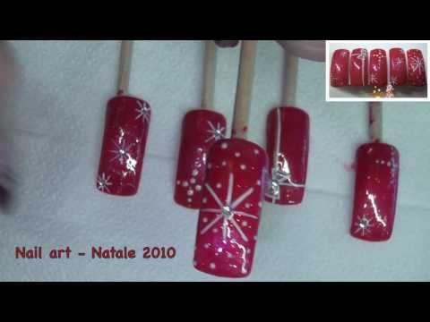 nail art natalizio