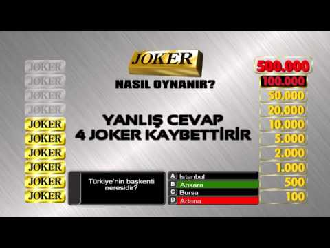 Video of Joker Bilgi Yarışı
