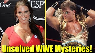 Video 10 INSANE UNSOLVED MYSTERIES In The WWE! (2018) - Stephanie McMahon, Shawn Micheals & More! MP3, 3GP, MP4, WEBM, AVI, FLV Desember 2018