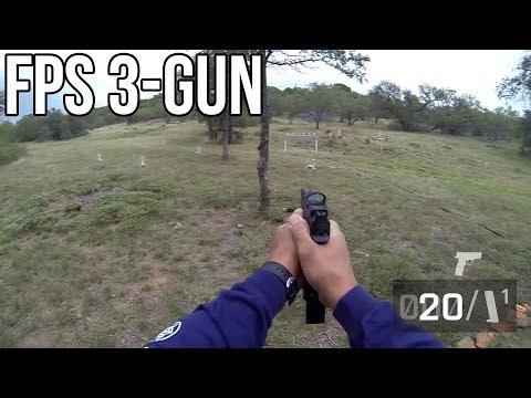 FIRST PERSON SHOOTING! Fallen Brethren 3-Gun 2013: Stage 6 – Jerry Miculek POV FPS