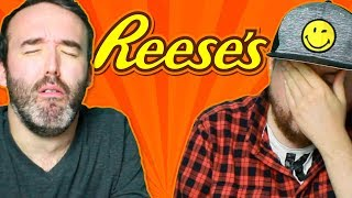 Irish People Try Reese's Peanut Butter Candy