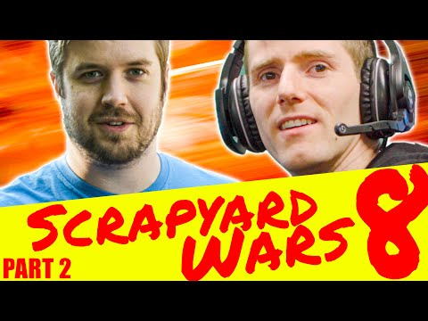 Budget Gaming Setup CHALLENGE - Scrapyard Wars 8 Part 2