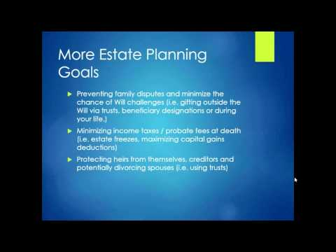 Estate Planning Bootcamp with Colin Ritchie from www.colinsritchie.com