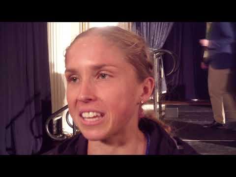 Jordan Hasay after 2019 Boston Marathon, says she wants AR at 2019 Chicago