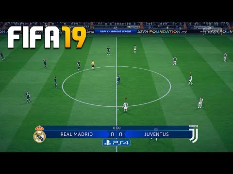 FIFA 19 DEMO CHAMPIONS LEAGUE - REAL MADRID Vs JUVENTUS - PS4 GAMEPLAY